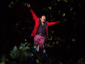 Jon Jon Briones as the Engineer in the London revival of MISS SAIGON (Photo credit: Matthew Murphy)