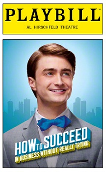 Playbill for HOW TO SUCCEED IN BUSINESS WITHOUT REALLY TRYING