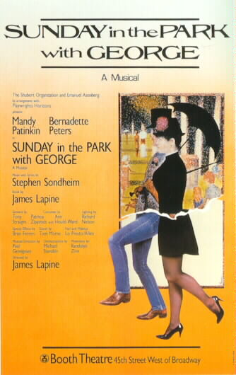 Sunday in the Park with George Poster 1984