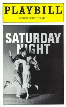 SATURDAY NIGHT Playbill