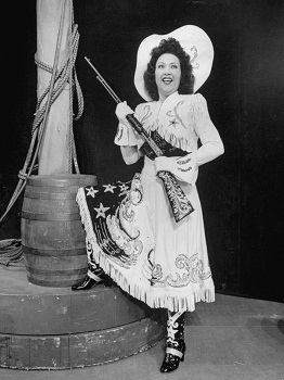 Ethel Merman in ANNIE GET YOUR GUN