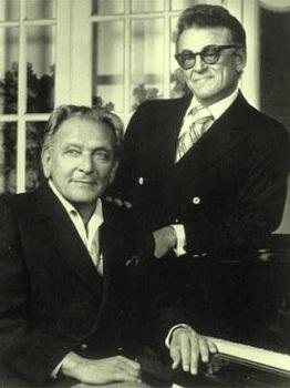 Frederick Loewe and Alan Jay Lerner