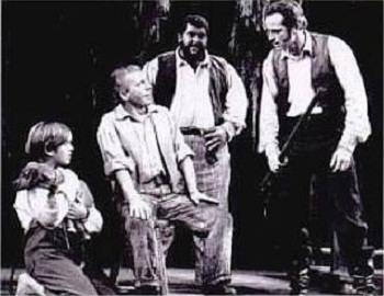 The original Broadway cast of THE YEARLING
