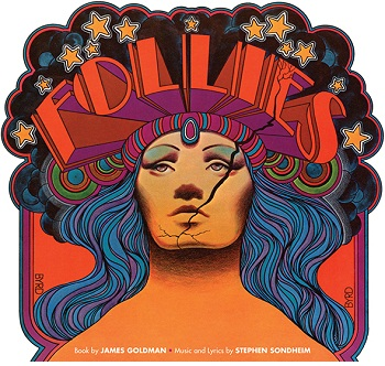 Artwork for the original production of FOLLIES