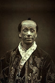 George Grossmith made up as Ko-Ko in THE MIKADO