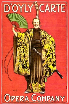 J. Hassal's THE MIKADO illustration