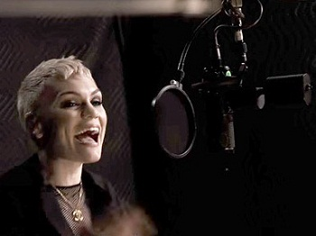 Jessie J records the title song of GREASE