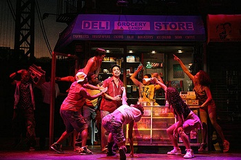 IN THE HEIGHTS as it appeared on Broadway