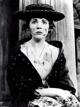 Julie Andrews as Eliza Doolittle in MY FAIR LADY