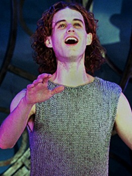 Joshua Park as Pippin the the 2006 Goodspeed Opera House's produciton of PIPPIN