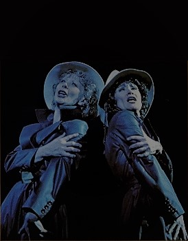 Gwen Verson and Chita Rivera in the original 1975 production of CHICAGO