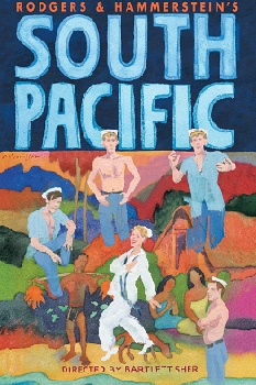 Poster artwork for the Lincoln Center revival of SOUTH PACIFIC