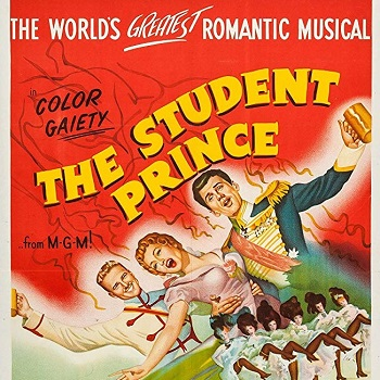 Movie Poster for THE STUDENT PRINCE